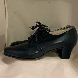 Vintage Selby Leather Narrow Shoes Sz 10AA